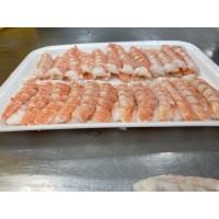 Camarón para rollo de sushi charola 60 pzas
